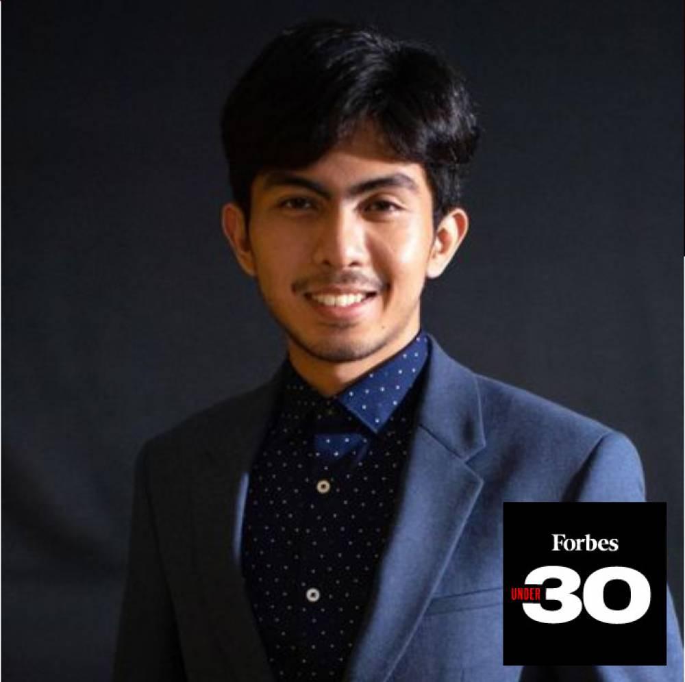 "Bernadus Setya Ananda Wijaya  (TN 17) masuk "" FORBES 30 UNDER 30 """
