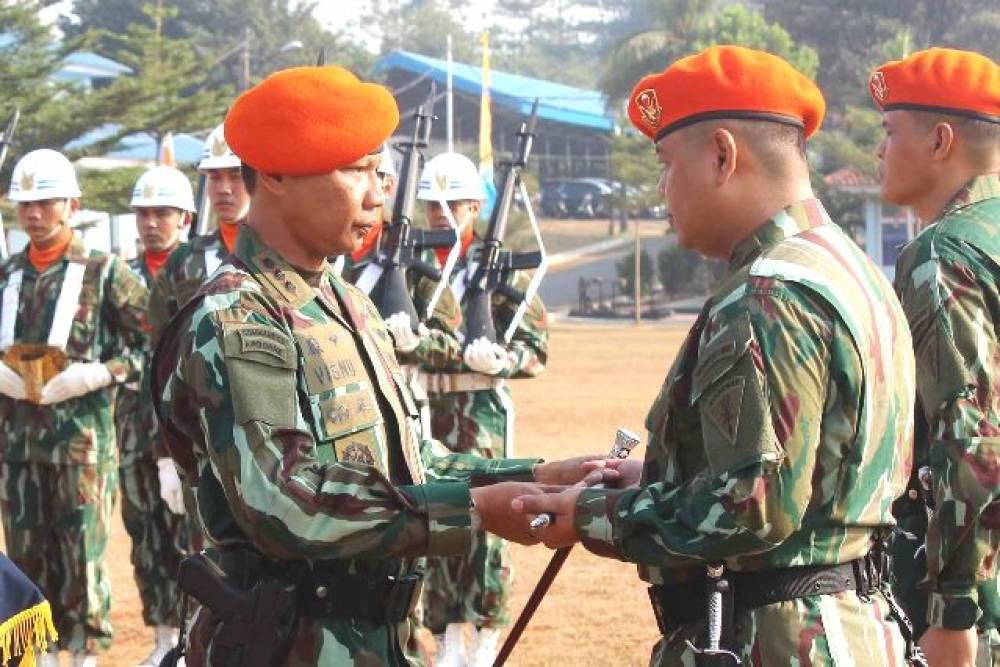 Letkol Pas Pratomo Sariadi Darwan (TN 5) sebagai Komandan Batalyon Komando 467 Paskhas TNI AU